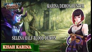kisah nyata hero karina sang dark elf pemburu iblis yang merupakan kakak selena