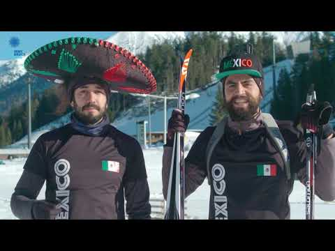 Exotic Participants At The Winter World Masters Games