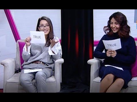 SINGLE? TRISHALA GURUNG & SWETA SINGH HAMAL   THE EVENING SHOW AT SIX