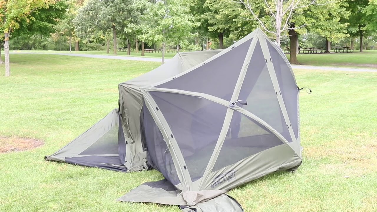 How to Set Up a Quick-Set Screen Shelter - Instructional Video & How to Set Up a Quick-Set Screen Shelter - Instructional Video ...