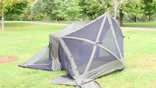 How to Set Up a Quick-Set Screen Shelter - Instructional Video