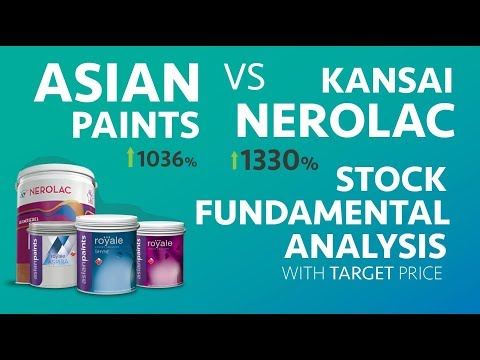 Asian Paints vs Kansai Nerolac | Stock Fundamental Analysis - the world of Paints