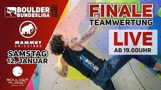 +++LIVE+++ Finale – Teamwertung –Boulder Bundesliga