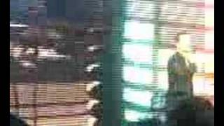 George Michael 25Live Lyon Outside