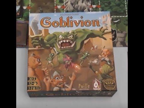 Goblivion - Découverte - Partie Solo