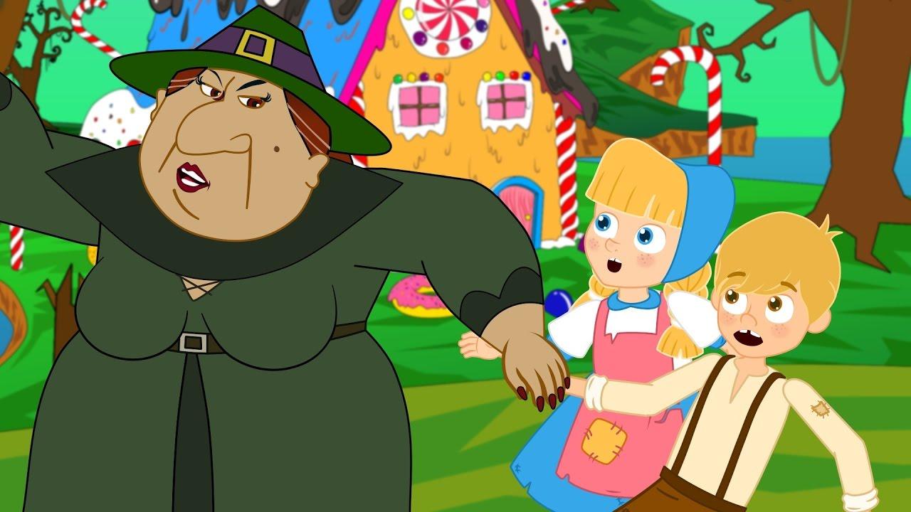 Hänsel e gretel storie per bambini cartoni animati fiabe e