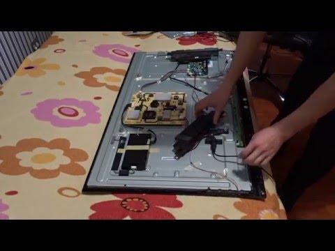 видео: Ремонт led ТВ. Ремонт светодиодной подсветки.