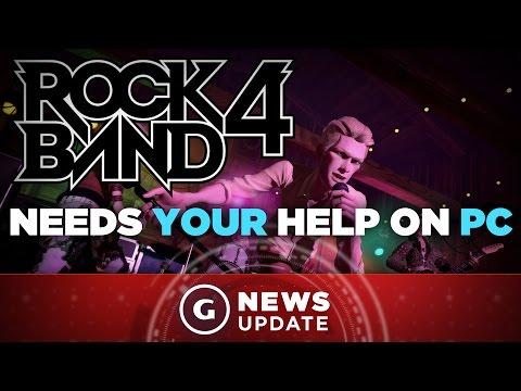 Rock Band 4 PC Version Seeking Crowdfunding - GS News Update