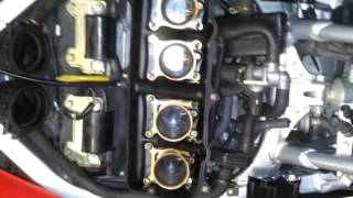 CBR600 F3 carburetors lovin