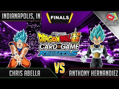 Dragon Ball Super Card Game Gameplay [DBS TCG] Indianapolis Regional Finals