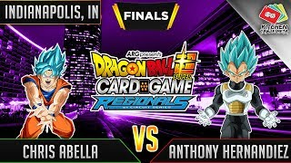 Dragon Ball Super Card Game Gameplay [DBS TCG] Indianapolis Regional Finals