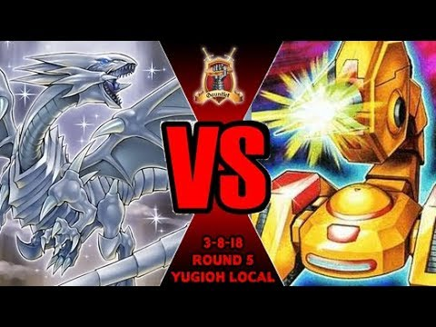 Blue-Eyes Vs ABC- Yugioh Gauntlet Local Tournament 3-8-18 R5