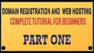 Domain Registration And Hosting For Clickbank Beginners (Part 1)
