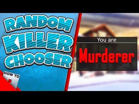 How To Make A Random Killer Picker Howtoroblox Youtube