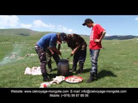 Les nomades de Mongolie