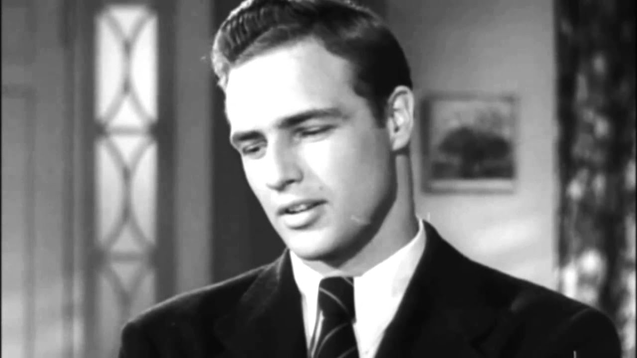 Marlon Brando's screen test Rebel without a Cause - YouTube