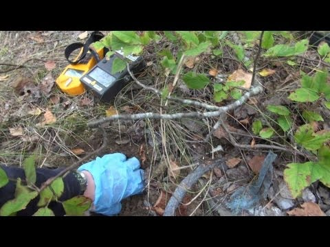 chernobyl 2012 II: digging up highly radioactive waste (includes HPGe gamma spectroscopy!)