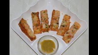 Bread Sticks Recipe By Chef Shaheen