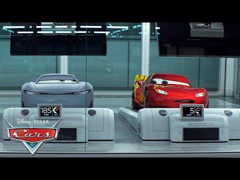 Lightning Tries Next Gen Training! | Pixar Cars