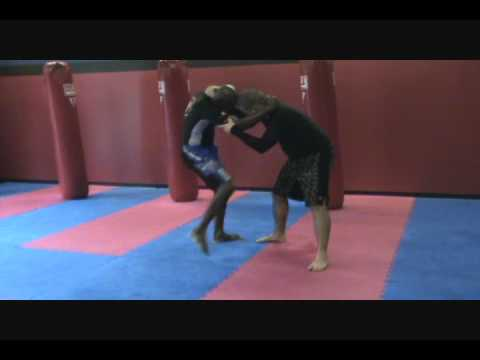 Modified Flying Armbar with BJJ Black Belt