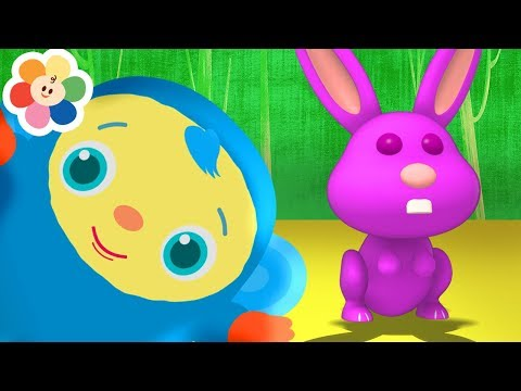 Learn Colors With Peekaboo 3D | New Episodes | Learning Videos For Kids and Toddlers by BabyFirst TV