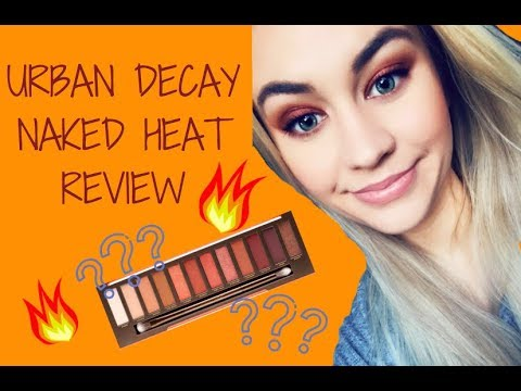 Urban Decay Naked Heat Review || Sammie Nicole