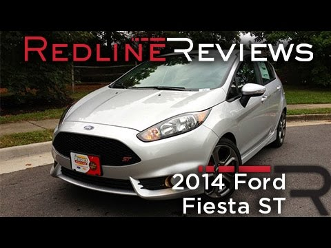 2014 Ford Fiesta ST Review Walkaround Exhaust Test Drive