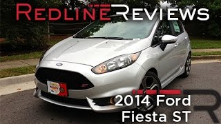 2014 Ford Fiesta ST Review, Walkaround, Exhaust, & Test Drive