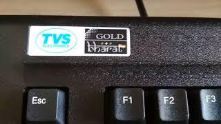 Keyboard TVSE GOLD BHARAT keyboard review