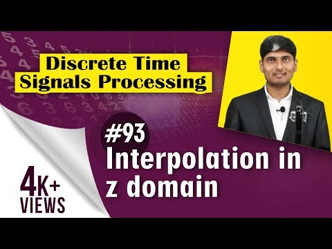How to analysis in z-domain in Interpolation