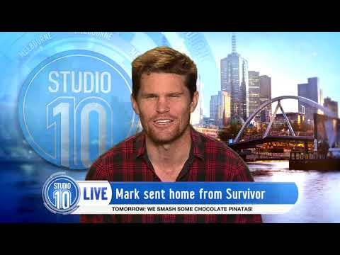 Mark Eliminated From Australian Survivor 2017 | Studio 10