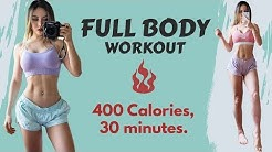Intense Full Body Workout   Burn 400 Calories in 30 Min At Home