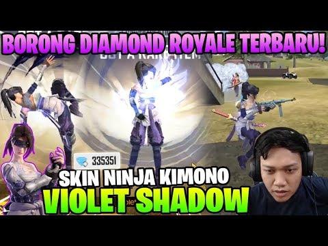 KEREN ABIS! BORONG SKIN KIMONO DIAMOND ROYALE TERBARU! AUTO KILL BANYAK! - Garena Free Fire