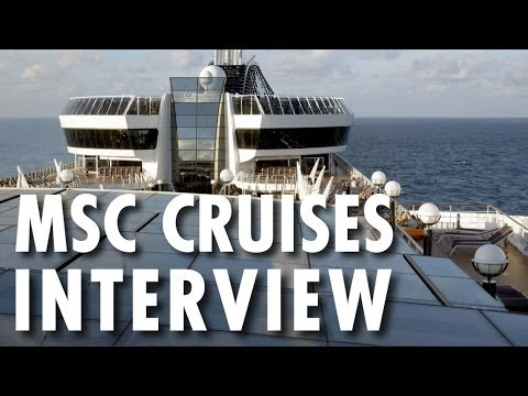 MSC Cruises USA Interview With CEO Richard Sasso ~ MSC Divina ~ Popular Cruising Podcast