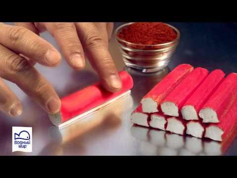 Крабовые палочки (сурими). Из чего делают крабовые палочки