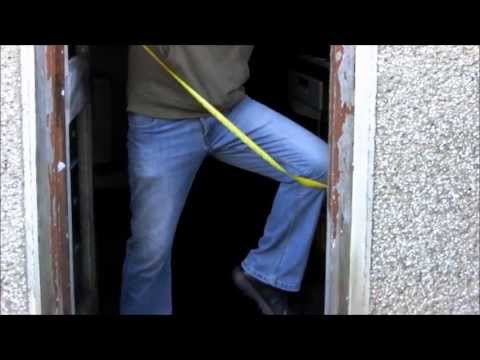 How To Fit Upvc Door And Frame. Part 1