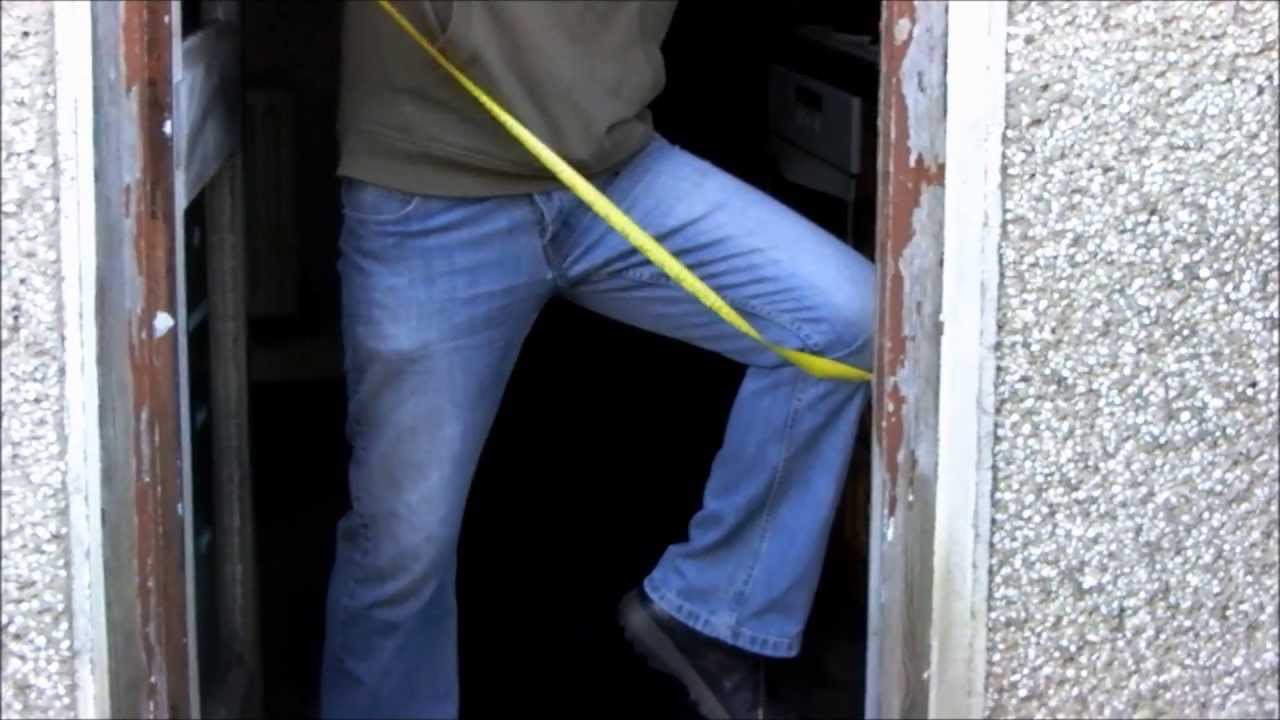 Pvc Door Frame : How to fit upvc door and frame part youtube