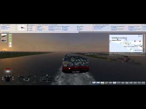 Ship Simulator 2008 - Dock container vessel // TOME Simulador!