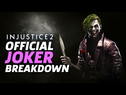Injustice 2 - Joker Official Moveset and Breakdown