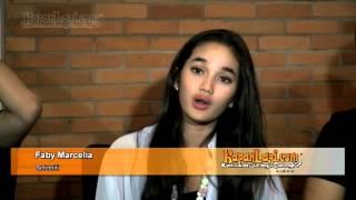 Repeat youtube video Rekaman Kemesraan Faby Marcelia & Revand T Narya