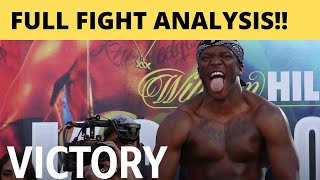 FULL FIGHT ANALYSIS!! WOW!! - KSI LOGAN PAUL REMATCH