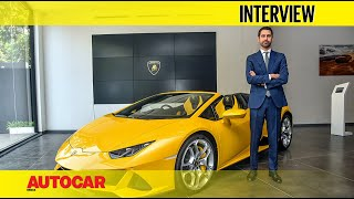 Lamborghini Huracan Evo Spyder India Launch - Matteo Ortenzi | Interview | Autocar India