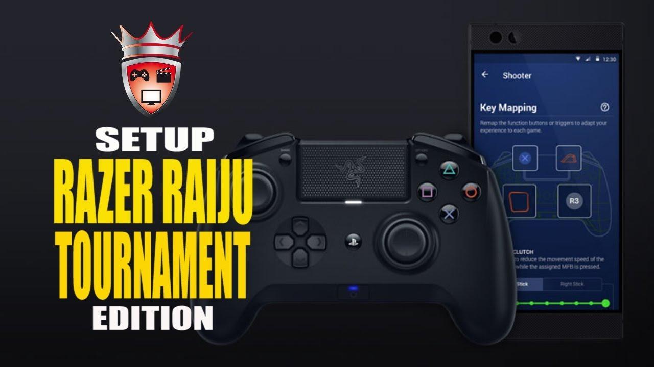 Setup RAZER Raiju Tournament Edition