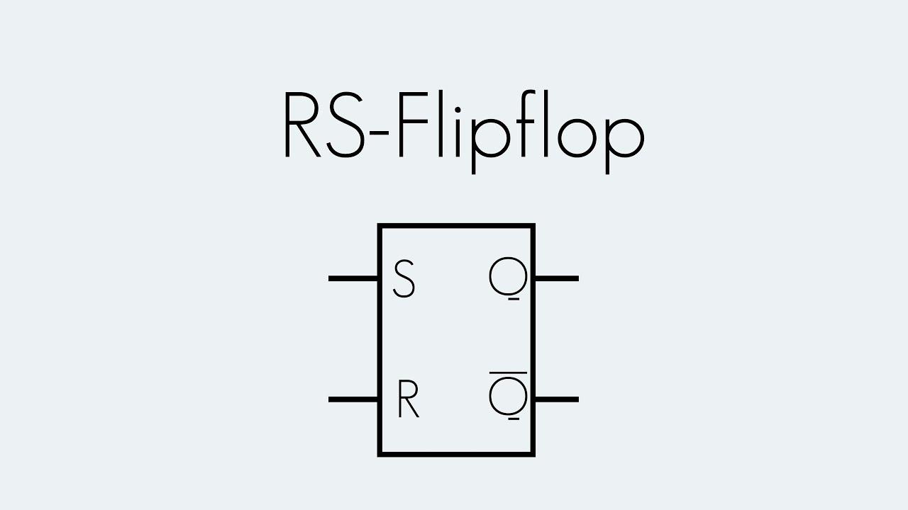 RS-Flipflop | Digitaltechnik | Begriffserklärung - YouTube