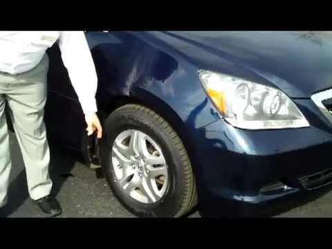 Certified used 2007 honda odyssey ex for sale at honda for Certified used honda odyssey
