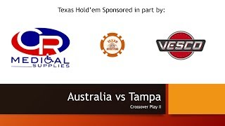 Australia vs Tampa Texas Hold'em Wheelchair Rugby Tournament Crossover play II