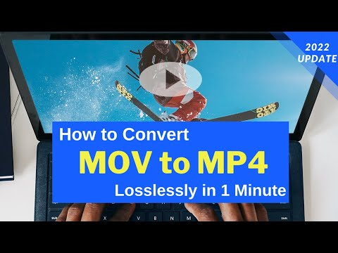 How to Convert MOV to MP4 in 3 Steps without Losing Quality