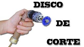 Como Fazer Disco de Cortes ( Micro Retifica , Furadeira )
