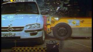 Euro NCAP | Opel/Vauxhall Omega | 1998 | Crash test