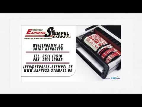 Express-Stempel-Dienst e.K. - Aufkleber, Visitenkarten in Hannover